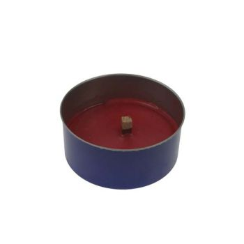 Finnmart Stone S2 Candle Black-red D10x4.5cm