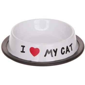 Cosy & Trendy I Love My Cat Pet Dish 15,5xh3,5cm