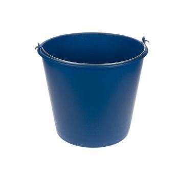 Hega Hogar Bucket Blue 12l D28cm -h 25cm Flexible
