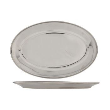 Cosy & Trendy Oval Stainless Steel Serving Tray 35cm