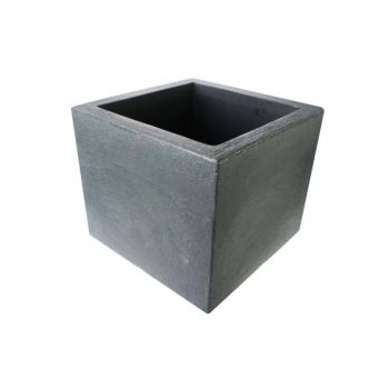 Cosy & Trendy Cube Cp Black-anthracite 50x50xh42cm