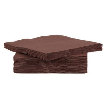 Cosy & Trendy For Professionals Ct Prof Napkin Tt S40 25x25cm Chocolat