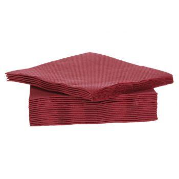 Cosy & Trendy For Professionals Ct Prof Napkin Tt S40 25x25cm Bordeaux