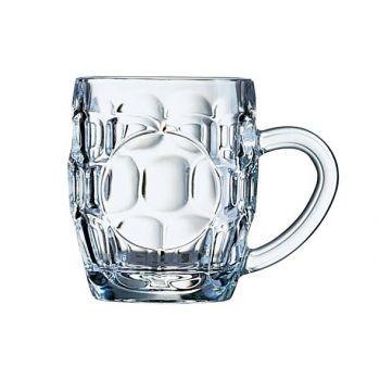 Arcoroc Bock Beer Glass 28cl Decorable
