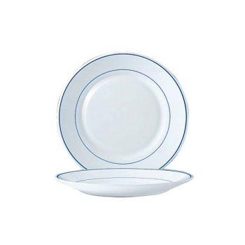 Arcoroc Restaurant Delft Flat Plate 23,5cm