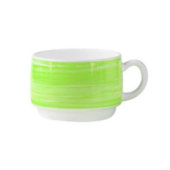 Arcoroc Brush Mug Green 19cl