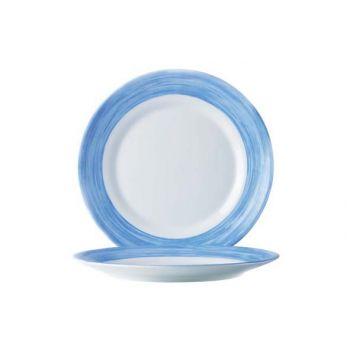 Arcoroc Brush Flat Plate Blue 23,5cm