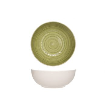 Cosy & Trendy Turbolino Green Salad Bowl D25cm