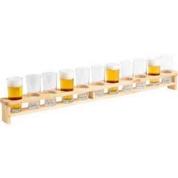 Cosy & Trendy Beerboard 1m For 11 Glasses 22cl - Wood