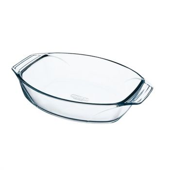 Pyrex ovale schaal 30x21cm