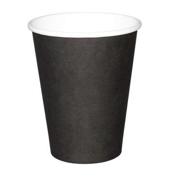 Fiesta koffiebekers enkelwandig zwart 34cl