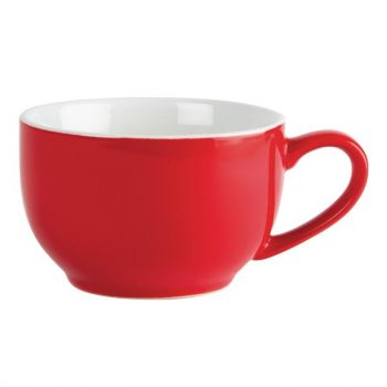 Olympia Café koffiekoppen rood 23cl