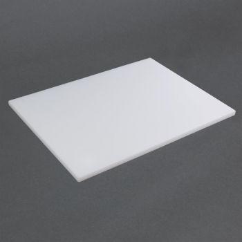 Hygiplas LDPE snijplank wit 60x40x2cm