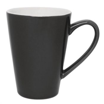 Olympia Café latte bekers grijs 34cl