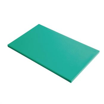 Gastro M GN1/1 HDPE snijplank glad groen
