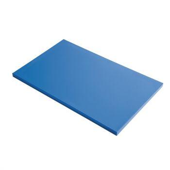 Gastro M GN1/1 HDPE snijplank glad blauw