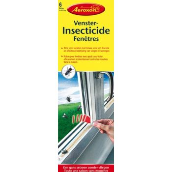 VENSTERINSECTICIDE STRIP 6 STUKS AEROXON  49804 (12)