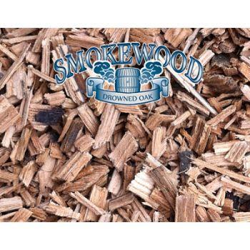 Big Green Egg Smokewood Whiskey Rough Cut 2L