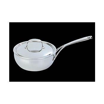 Demeyere 25918-41518 ATLANTIS conical sauté pan with lid 18cm/7,1''