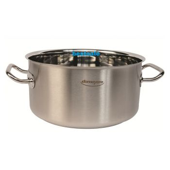 Demeyere 90024 Commercial cooking pot without lid 24cm