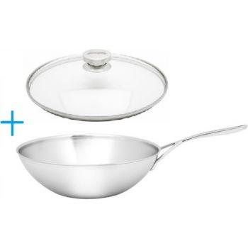 Demeyere 50930 Intense Wok with lid 30cm