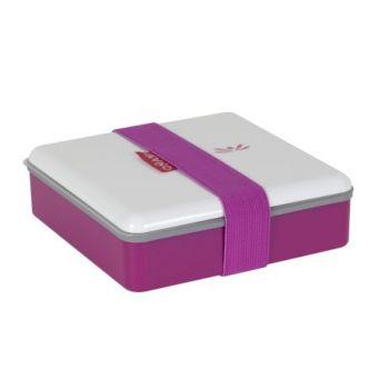 Omami pink lunchbox 15x15x4,6cm