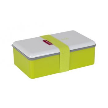 Omami green color lunchbox 20x12x6,7cm