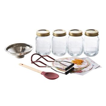 Kilner RAY-0025-360 10-Pieces Preserving Starter Set