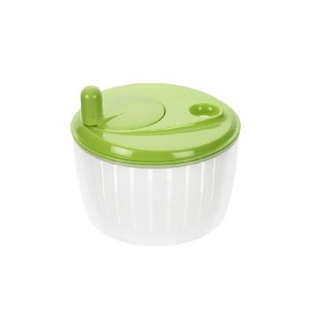 Lurch 10220 Salad Spinner With Blue Lid 22,5x14cm. green w/handles