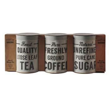 Mason Cash Baker Lane Tea, Coffee Sugar Tins 1L