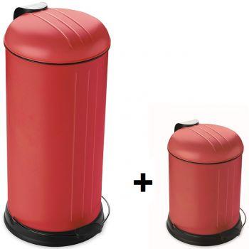 Point Virgule Promotion Rixx Bin 30L+Free 5L Red