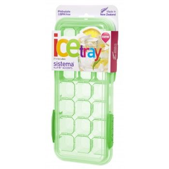 Sistema Accent Ice Tray Large Green