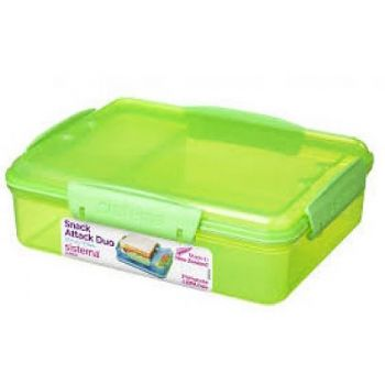 Sistema Lunch 1482 Snack Attack Duo 975ml Green