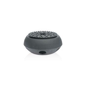 Point-Virgule Tea warmer in cast iron black