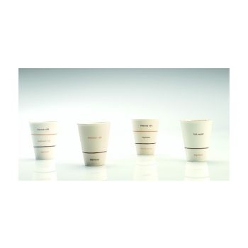 Thai Ceramic SNMX001 Cup 'Caffe Latte'