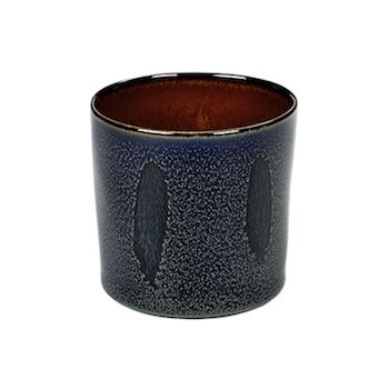 Anita Le Grelle Terres De Rêves B5116108 Dark Blue/Rust Goblet Cylinder High