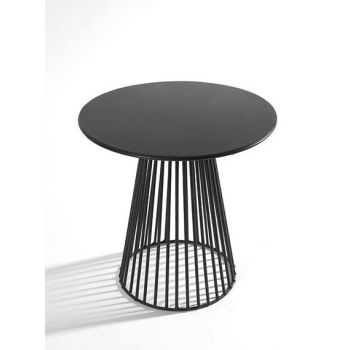 Antonino Sciortino B7210170 Serax Bistrot Table GARBO40 Round D40 Black