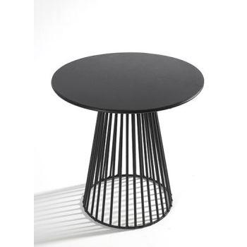 Antonino Sciortino B7210171 Serax Bistrot Table GARBO50 Round D50 Black