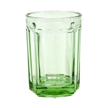 Paola Navone B0816769 Glass Large Transparent Green Fish&Fish 40CL