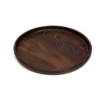 Pascale Naessens PURE B0218102 Tray wood round