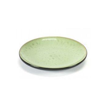 Pascale Naessens B1015225 Plate Seagreen Black Medium 16cm