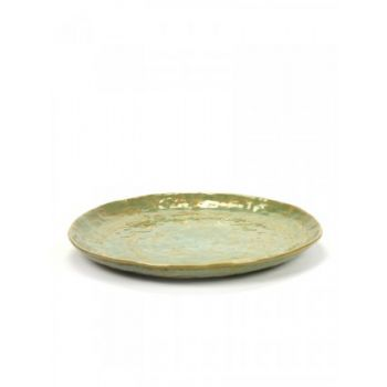 Pascale Naessens B1015228 Plate Seagreen Large