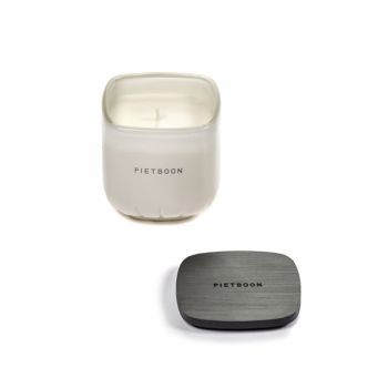 Piet Boon Fragrance Candle White Small 7AM 8x8 H9