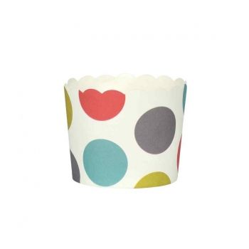 Baking 9325 Set of 25 Muffin Cups 'Spots'