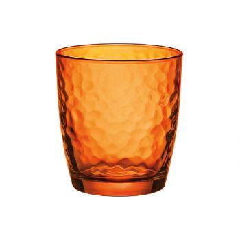Bormioli palatina tumbler oranje spray 32cl