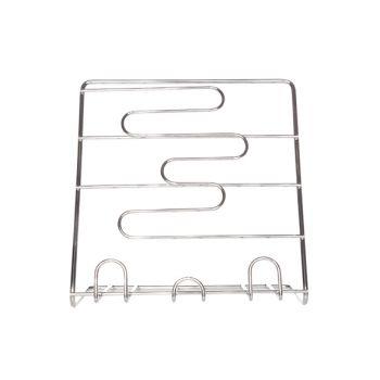 Cookbook stand alu chrome 25x25xh15cm