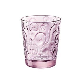 Bormioli naos goblet 29 cl  set 6 candy pink
