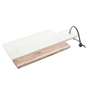 White marblecheese board 30x15cm