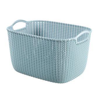 Curver Knit Basket Misty Blue 19L