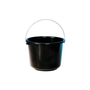 Curver Bucket Black 12L